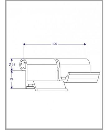 PASADOR ALETA 4x50 (GRUPILLA)