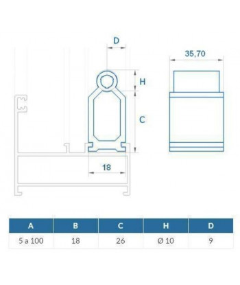 PLANCHA COMPOSITE BLANCO 4mm A 3050x1500 mm