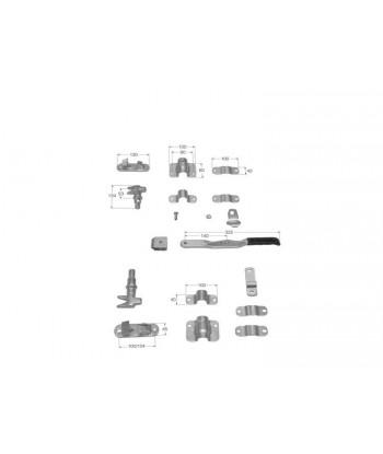 TALADRO ELECTRICO 550W 13mm 2VEL.