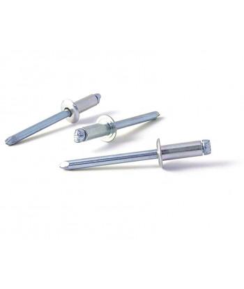 CERRADURA-PICAPORTE 25mm BOMBIN NIQUEL