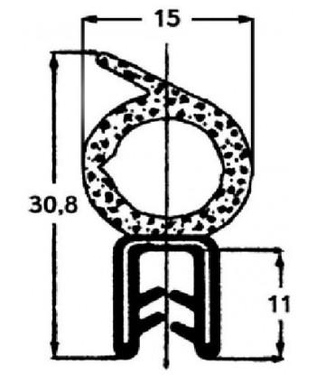 SILICONA NEUTRA ROBLE OSCURO 8003 SL650