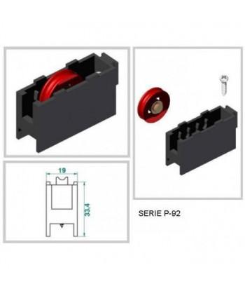 BOTADOR CIL. S/CORTA 6x115x10 REF.8930