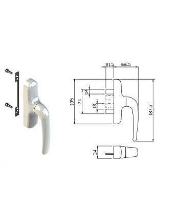 MANGUERA BITUBO 8x9mm