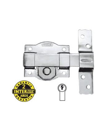 CERRADURA-PICAPORTE 20mm BOMBIN OVAL. LATON