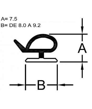PLETINA ESPONJOSA 05x60
