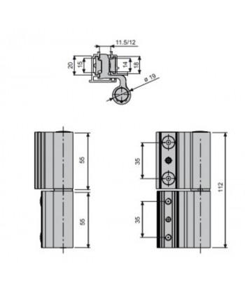 LIJADORA BANDA 900W 76X130mm